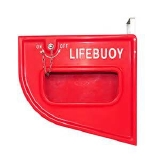 Suporte Lançamento Boia - GRP Quick release box for lifebuoy / life ring Quick release box