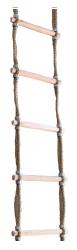 Jacobs Ladder 20 Meters - Escada em Corda de Sisal Tratada, degraus em madeira maciça.
