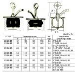 Plug de Vedação C/Borracha 85-110mm - Scupper Plugs 85-110mm - IMPA 232484