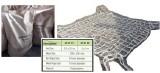 Rede de Carga Polipropileno 3,0 x 3,0 Metros - IMPA 232152 - Polypropylene Rope Cargo Net Slings 3,0 x 3,0 Meters
