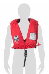 Colete Salva Vidas Inflavel - Vermelho - Classe I - SOLAS- Viking 275N - PV9345