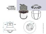 Luminaria Sinalização EVA 200 FLASHING LIGHT 6J 24V 50Hz CC RED - II 2G Ex d IIC T3 - II 2D Ex tD A21 IP 65 T 200C